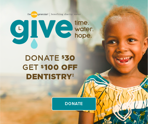 Donate $30, Get $100 Off Dentistry - Sammamish Smiles Dentistry